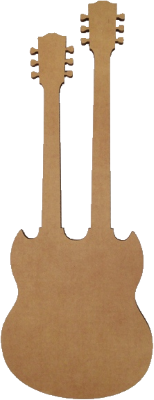 Corrugated Double Walled Guitar