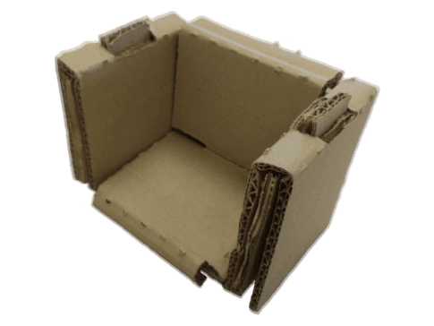 Custom Corrugated Corner Build-Up