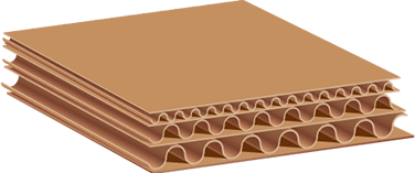 Triple Wall Corrugated packaging materials